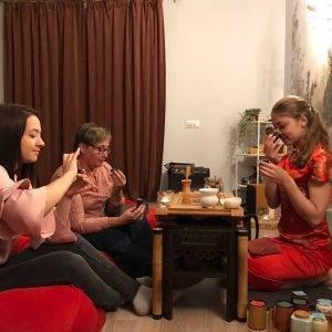 Мастер-класс по чайным церемониям