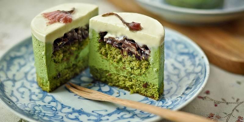 Матча в десерте
